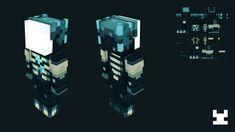 Images Minecraft, Minecraft Mobs, Minecraft Plans, Minecraft Blueprints, Cool Minecraft, Minecraft Creations, Minecraft Projects, Minecraft Crafts, Minecraft Designs
