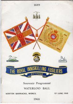 Royal-Inniskilling-Fusiliers-27th-Foot-Programme-1968-Souvenir-Programme
