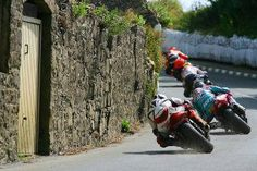 Road racing in Europe.  Don't dare get too close!