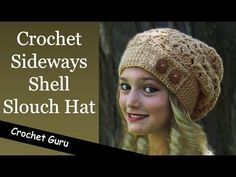 20b090a4d7f9e How To Crochet A Hat  Mock Cable Hat - YouTube Gorro De Crochê