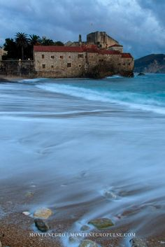 The Budva Riviera in Montenegro is full of beautiful beaches mingled with historic stone architecture.