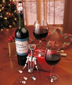 8-Pc. Holiday Wine Gift Sets