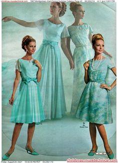 Vintage Clothing, Vintage Outfits, Vintage Fashion, Montgomery Ward, Noodle, Dress Outfits, Catalog, Spring Summer, Feminine