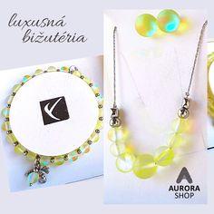 antialergická luxusná bižutéria #luxusnabizuteria #aurorashop #nahrdelnik #antialergickabizuteria #naramky #jewellery Mermaid Glass, Bracelets, Jewelry, Jewlery, Jewerly, Schmuck, Jewels, Jewelery, Bracelet