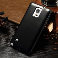 Galaxy note4 leather cover- Black from gadget2us.com