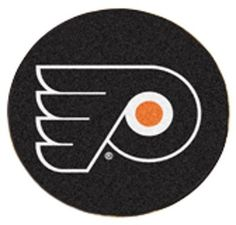 Fanmats Philadelphia Flyers Puck Floor Mat 29 Inch Waist by Fanmats. $26.55. Accent your den or fan cave with this NHL® puck-shaped floor mat from Fanmats®. It features a durable nylon construction, boasts non-skid Duragon® latex backing for safety, and is Chromojet-painted with the team logo.