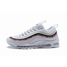 pick up 4f9d2 e435e Hommes Chaussure Nike Air Max 97 Blanc Rouge Vert  AirMax97