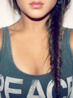 Literally the perfect fishtail.