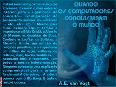 Grafados: A.E. van Vogt - Quando os Computadores Conquistaram o Mundo
