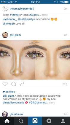 Nose contour
