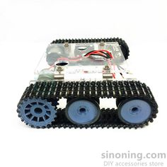 Acrylic tank robot chassis DC9-12V tracked vehicle DIY arduino kit SN7300 Robot Chassis, Development Board, Accessories Store, Arduino, Monster Trucks, Kit, Vehicles, Vehicle, Tools