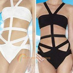 Sexy-Girls-Lady-Cut-Out-One-Piece-Bikini-Bandage-Top-Swimmwear-Swimsuit-Hot-R1BO