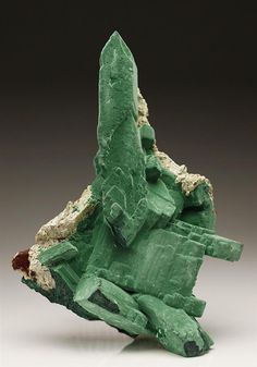 Malachite Pseudomorph after Azurite (22.0x13.5×6.5 cm) Crystal Classics Minerals