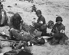 """D Day - """"On the Beach"""" June 6, 1944"""