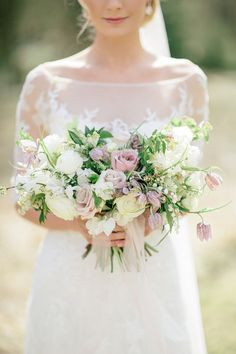 Photography : Sonya Khegay Read More on SMP: http://www.stylemepretty.com/destination-weddings/2016/03/05/romantic-garden-inspired-spring-moscow-wedding-in-pastel-hues/