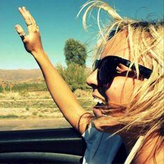 Coisas simples que fazem a nossa alegria: vento no cabelo e um belo dia #momentobásico