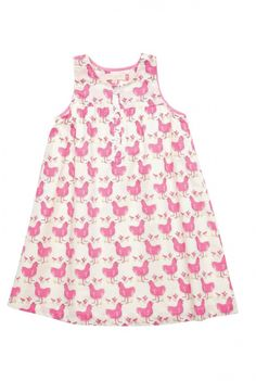 Chicken- Pink dress and Girls dresses on Pinterest