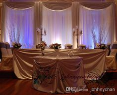 Wedding Drape & Stand Set Wedding Curtain With Silver Swag Stand With Telescopic Rods Wedding Backdrop With Drape And Backdrop Frame Outdoor Wedding Decoration Paper Wedding Decorations From Johhnychan, $233.51  Dhgate.Com