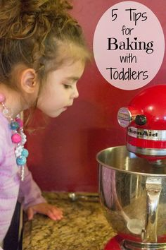 Baking season is almost upon us, get your child in on the fun! 5 Tip for Baking with Toddlers