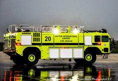 Dayton Airport Fire Department Fire Truck.