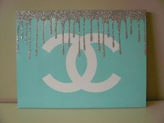 Chanel Canvas by CanvasFlair on Etsy, $100.00