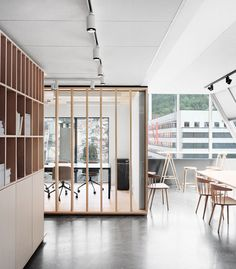 Bergen International Festival offices by Eriksen Skajaa Architects in Bergen, Norway