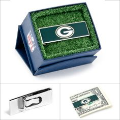 $45.00 NFL Green Bay Packers Money Clip #moneyclips #giftsfordad #walletloutlet