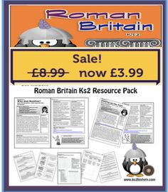 New Unit for KS2 History covering The Romans in Britain. Lesson plans and pupils resources for the 2014 National Curriculum.