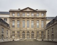 Archives nationales (Paris) hôtel de Rohan (côté cour) - Hôtel particulier