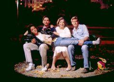 Matthew Broderick, Harvey Fierstein, Anne Bancroft, Brian Kerwin, 1988  Torch Song Trilogy