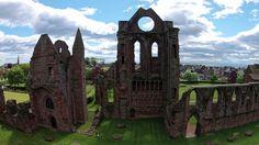Arbroath Abbey, Arbroath, Scotland - http://bestdronestobuy.com/arbroath-abbey-arbroath-scotland/