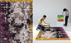 In 2010, under the brand name Tufted, the Portuguese handmade rug maker Piodão Group showcased some of its latest creations at the Zona Tortona during the year's Milan Design Week.