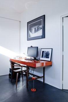 slick and minimal work space.