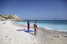 Naked in Gavdos island, Crete Zorba The Greek, Travel Articles, Crete, My Dream, Beach Mat, Sailing, Outdoor Blanket, Nude, Island