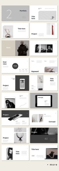 Awesome Simple Portfolio Presentation Template – Expolore the best and the special ideas about Portfolio layout Ppt Design, Presentation Template Design, Layout Design, Design De Configuration, Presentation Layout, Slide Design, Ppt Template Design, Keynote Design, Marketing Presentation