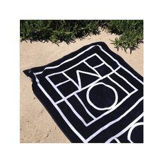 toteme beach towel