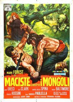 The style of Italian film poster design