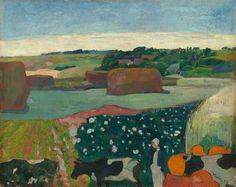 Paul Gauguin, Les Meules, ou Le Champ de Pommes de Terre,  1890