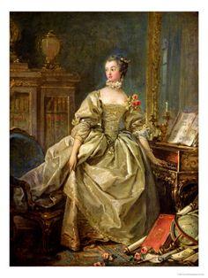 Madame De Pompadpour !721-1764