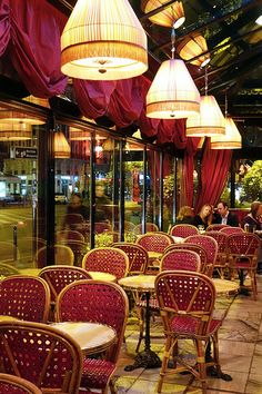 Paris' most famous cafes include Le Dome Cafe in Montparnasse, where the likes of F. Scott Fitzgerald, Ernest Hemingway, Gertrude Stein, Henri Matisse and more dined