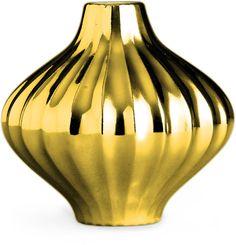 Always classy gold metal vase, Metallic Lantern Vase Brown Home Decor, Metal Vase, Jonathan Adler, Classic Elegance, Fine Porcelain, Lanterns, Pottery, Ceiling Lights, Pure Products