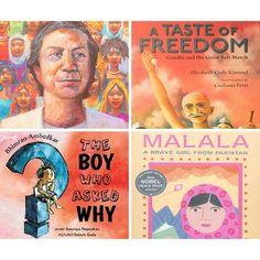 Visionaries of South Asia Book Bundle (Elementary School)