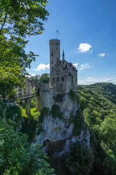 Lichtenstein Castle, actually near Stuttgart Germany. Link to other day trips from Stuttgart