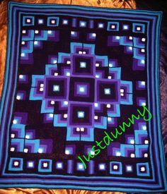 Pattern for the original Mandala Geometric blanket - http://justdunnycrochet.svbtle.com/original-mandala-geometric-crochet-blanket