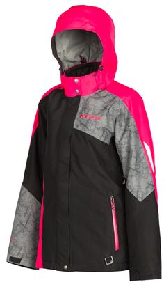 Klim Womens Allure Snowmobile Jacket available at Up North Sports Womens Snowmobile Jackets, Snowmobile Clothing, Nike Jacket, Rain Jacket, Snow Gear, Womens Parka, Jackets For Women, Clothes For Women, Casual Wear