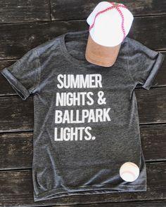 Baseball – Pre-Order – Summer Nights & Ballpark Lights