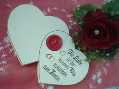 Geschenk, Tischdeko für Hochzeit, Ehejubiläum ganz nach Wunsch!