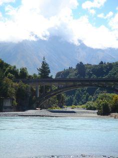 Bridge at Rakaia Gorge Homeland, New Zealand, Bridge, River, Explore, Country, Outdoor, Outdoors, Rural Area