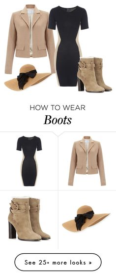 """Camel Jacket"" by sillycatgrl on Polyvore featuring Eugenia Kim, Jane Norman and Burberry"