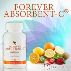 Forever Absorbent C Vitamin C 4 Stück Forever Aloe, My Forever, Forever Freedom, Vitamin B Komplex, Forever Living Business, Forever Living Products, Aloe Vera, Natural, Healthy Living